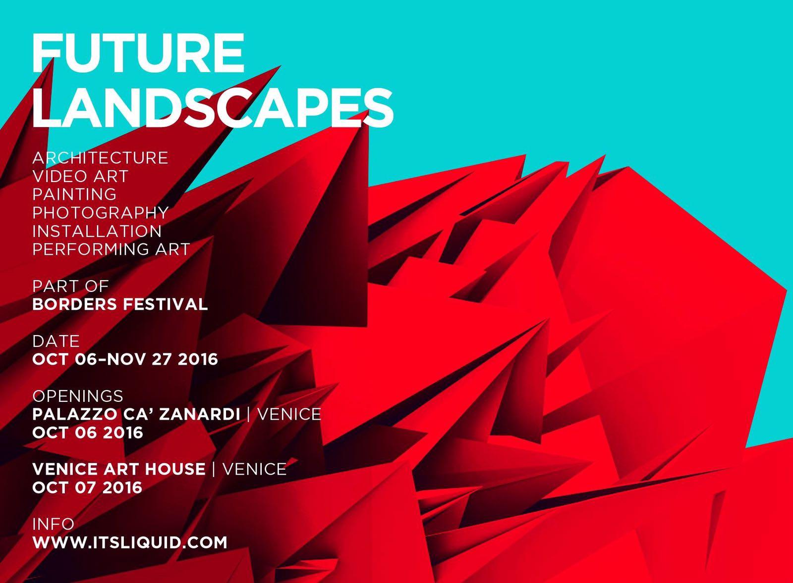 future landscapes venice 2016