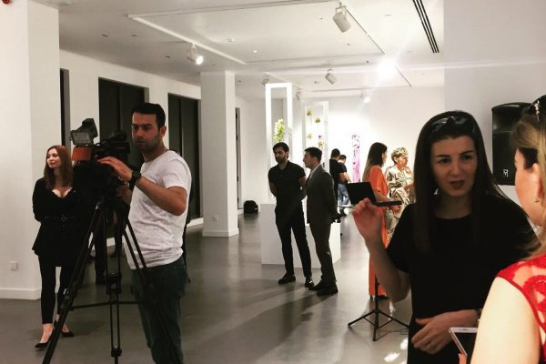 Presentation of capsule collection 2019 Marianne Venderbosch & M. Micallef at Gazelli Art House in Baku Azerbaijan